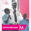 Road safety to schools in Maputo...