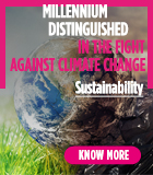 Millennium distinguished in the fight against climate change