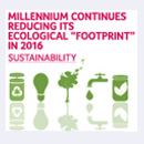 In 2016, Millennium group reduces again...