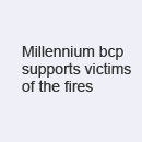 Millennium bcp supports victims of the fires...