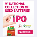 9th National Collection of Used Batteries...