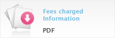 Fees charged – Information