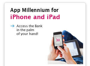 App Millennium for iPhone and iPad.