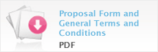 Proposal Form and General Terms and Conditions