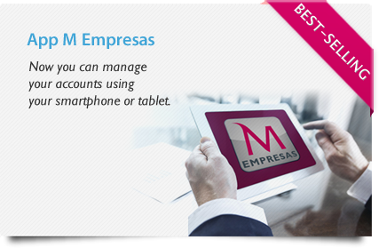 APP MEmpresas. Now you can manage your accounts using your smartphone or tablet.