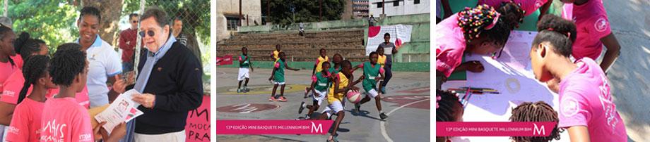 Another Banner Year For Millennium Bim S Mini Basketball Tournament