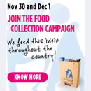 Join the food collection campaign