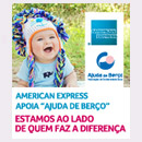 American Express solidária...