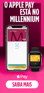 O Apple Pay está no Millennium