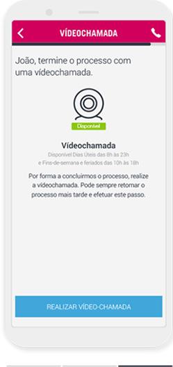 Realizar a Videochamada