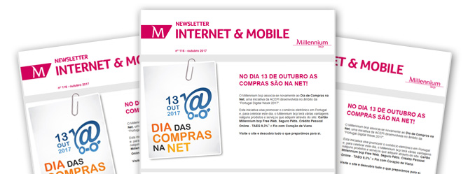 Newsletter de Internet e Mobile