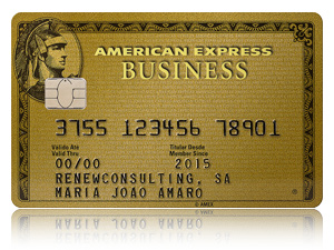 American expressr business gold millenniumbcp for Amex gold business card