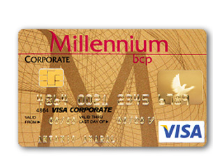 millennium bcp corporate gold - Visa Corporate Card