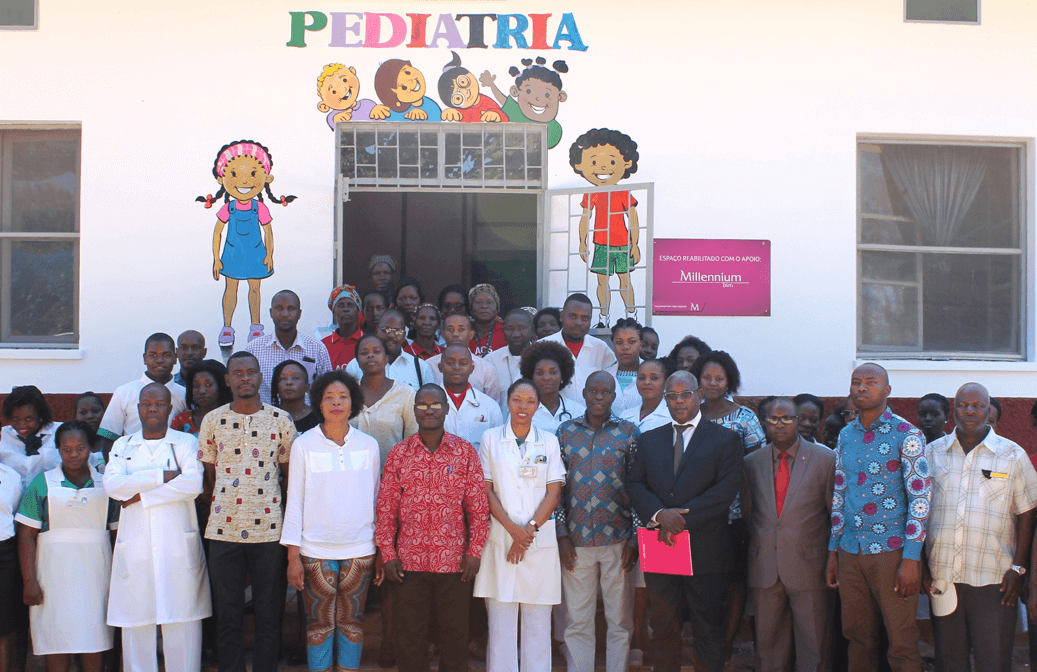 Rehabilitation of the Pediatric Unit of Chicumbane Hospital (Mozambique)