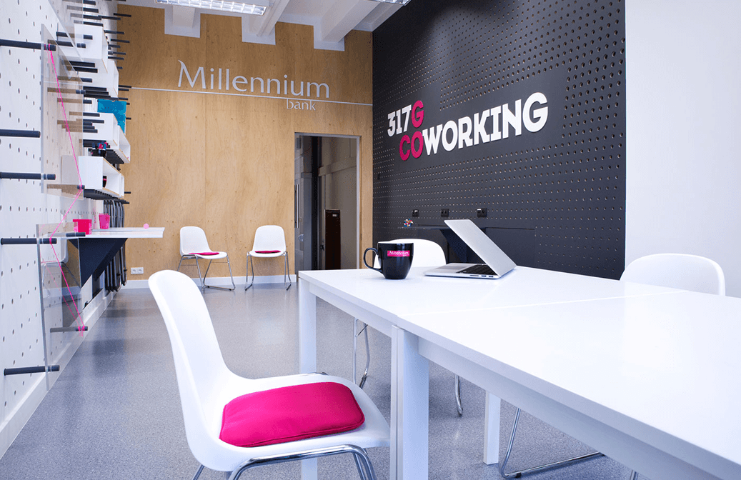 Bank Millennium opens coworking Center for startups (Poland)