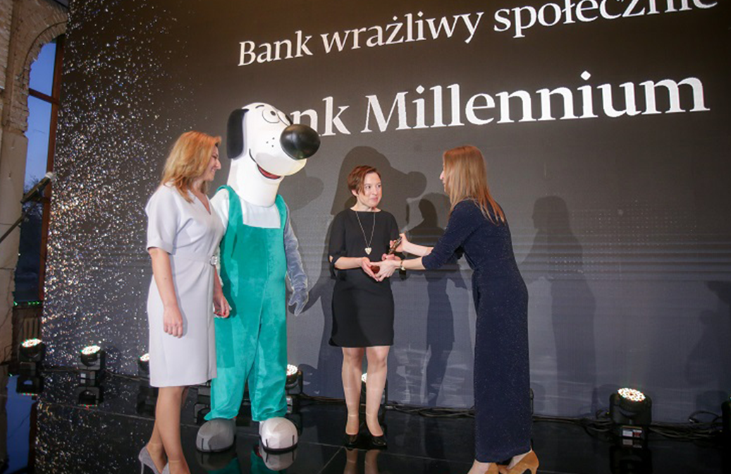 "Literacy programme ""Financial ABC"" was awarded by the ""Golden Banker"" in the category ""Socially Responsible Bank "" (Poland)"