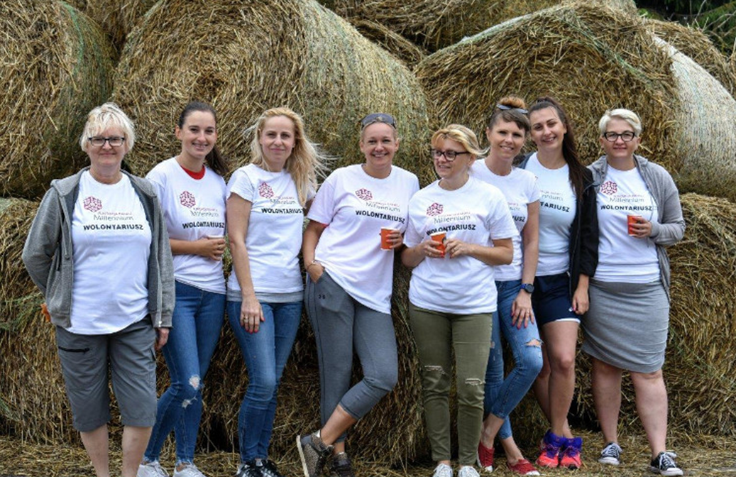50 volunteers from the Pomorskie Branches, in support of abandoned animals in the Rogate Ranczo Shelter (Poland)